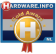 Winnaar hardware.info gold award