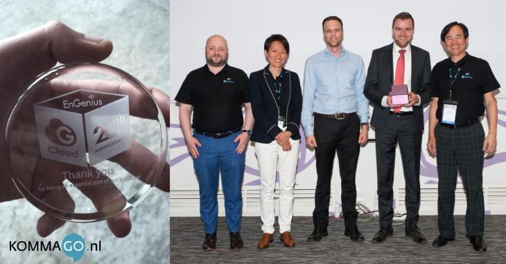 Succesvolle samenwerking tussen KommaGo en EnGenius duurt al 20 jaar