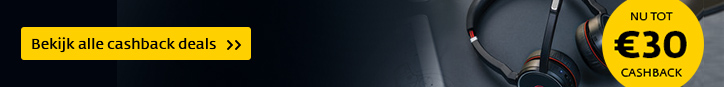 Ontvang tot 30 euro cashback op de Jabra Evolve serie