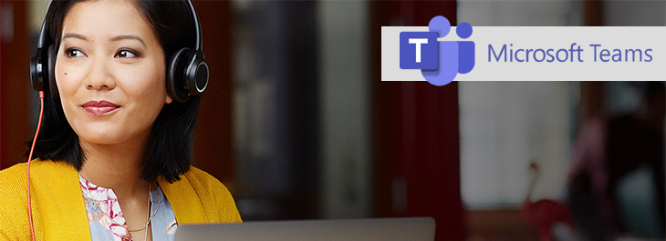 Microsoft Teams header