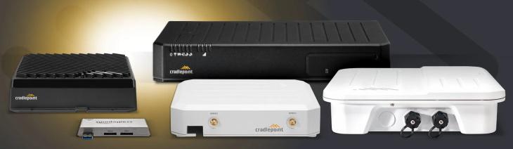 Cradlepoint tweede generatie 5G productportfolio