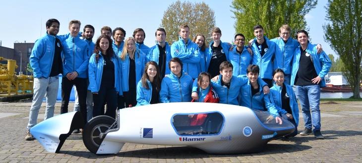 KommaGo helpt Ecorunner team Delft