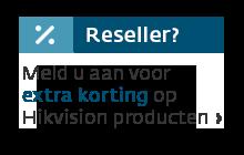 Meld u aan als reseller bij KommaGo voor extra korting op Hikvision producten