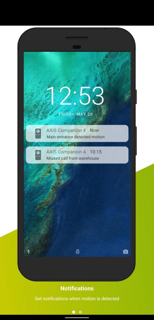 Axis Companion 4 app