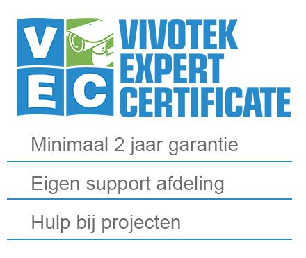 KommaGo is Vivotek Expert! Bekijk de voordelen.