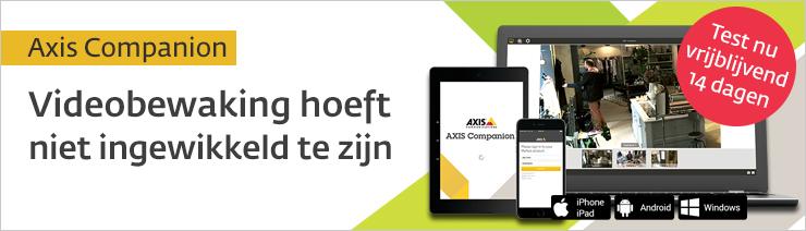 Test Axis Companion nu 14 dagen gratis op locatie