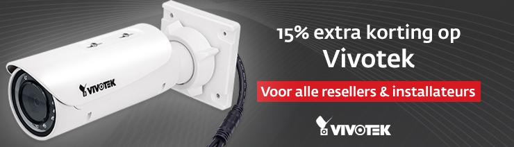 Resellerkorting Vivotek Camera's