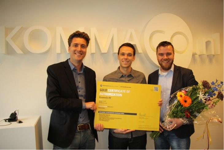 KommaGo Gold partner van Motorola Solutions