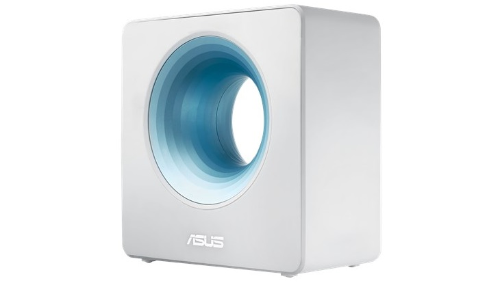 Nieuwe Asus Blue Cave router