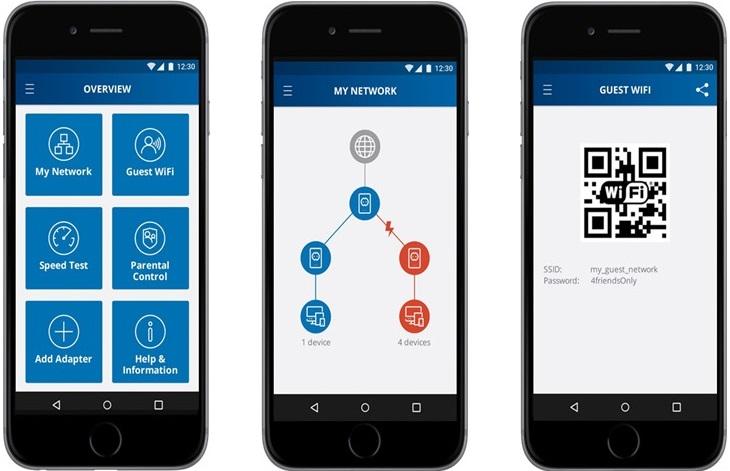 Devolo Home Network App voor Android en iOS