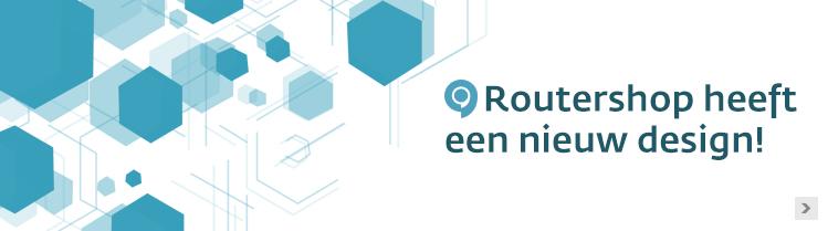 Nieuw design Routershop