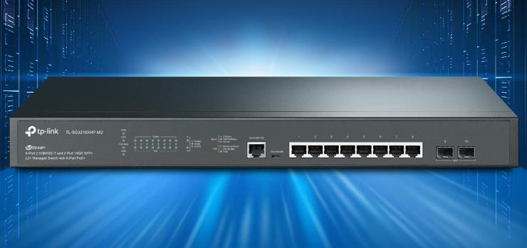 TP-Link Omada SDN TL-SG3210XHP-M2 switch
