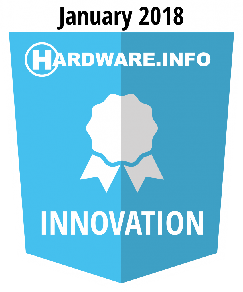 Hardware.info innovation award january 2018