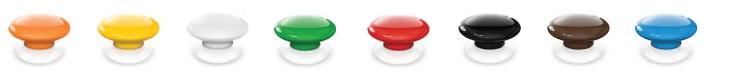 Fibaro Button in acht kleuren verkrijgbaar