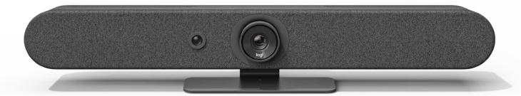 Logitech Rally Bar Mini alles-in-één 4K videobar voor kleine vergaderruimtes en thuiskantoren