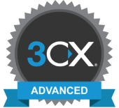 KommaGo is gecertificeerd Advanced Engineer van 3CX