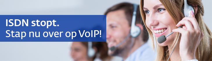VoIP is hét alternatief voor ISDN! Stap nu over.