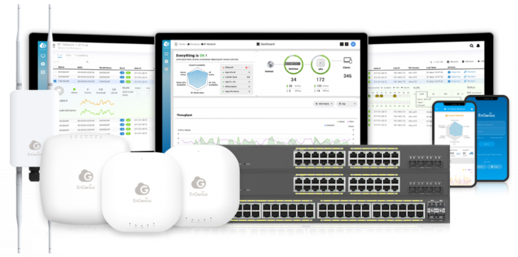 EnGenius Cloud switches en access points