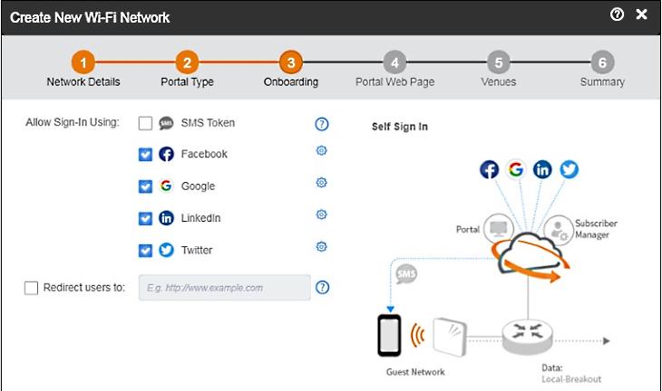 Ruckus Cloud Wi-Fi Captive Portal instellen