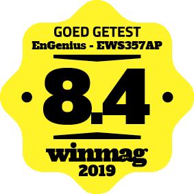WINMAG Editor's choice 2019 EnGenius EWS357AP