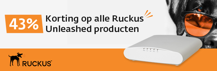 Ruckus Unleashed Actie: 43% korting op hardware