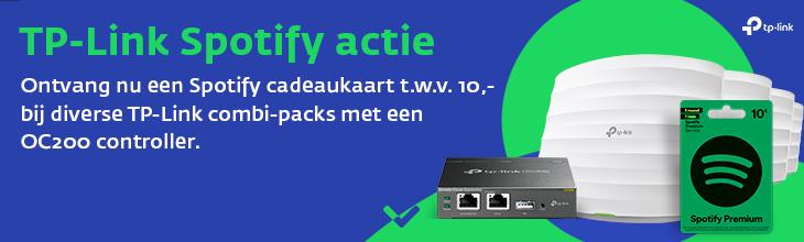 TP-Link Spotify Actie
